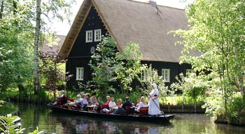Punting tour in the Spreewald Forest