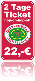You may buy your ticket for the City Circle Tour Berlin in our separate ticket shop. The link opens in a new window.