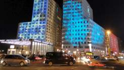Berlin Sightseeing: illuminated Potsdamer Platz during Festival of Lights