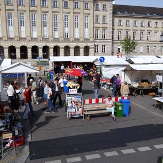 Enjoy your Berlin Sightseeing Tour. Explore the sights at Stop Flea Market.