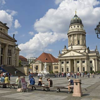 Enjoy your Berlin Sightseeing Tour. Explore the sights at Stop Gendarmenmarkt.