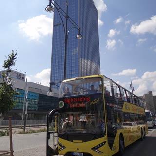 Enjoy your Berlin Sightseeing Tour. Explore the sights at Stop Alexanderplatz.