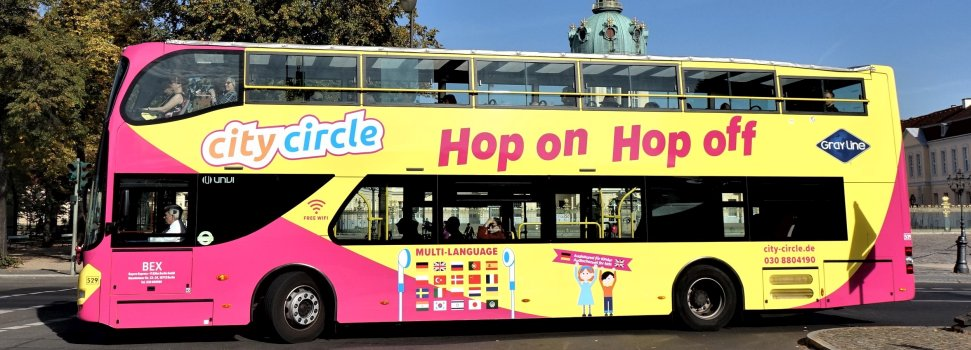 Berlin map - City Circle Sightseeing bus tour stops showing great ...